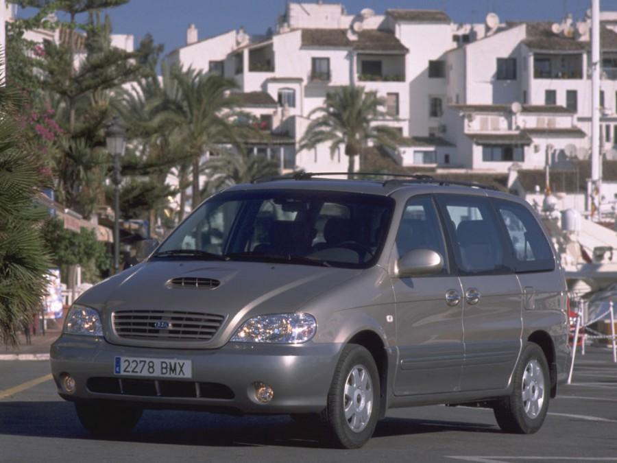 Kia Carnival минивэн, 2001–2006, 1 поколение [рестайлинг] - отзывы, фото и характеристики на Car.ru