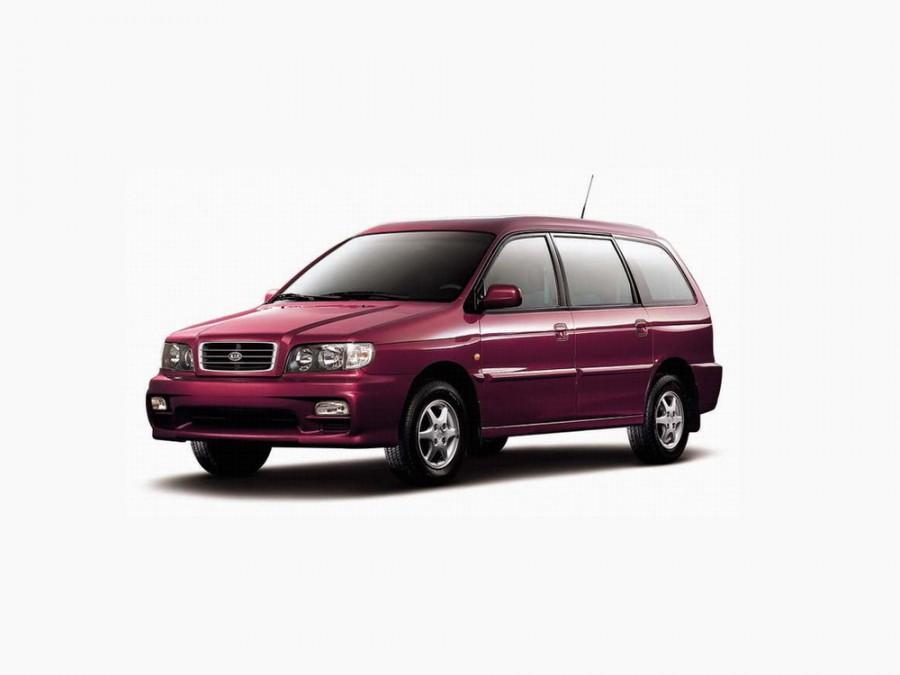 Kia Joice минивэн, 2000–2002, 1 поколение - отзывы, фото и характеристики на Car.ru