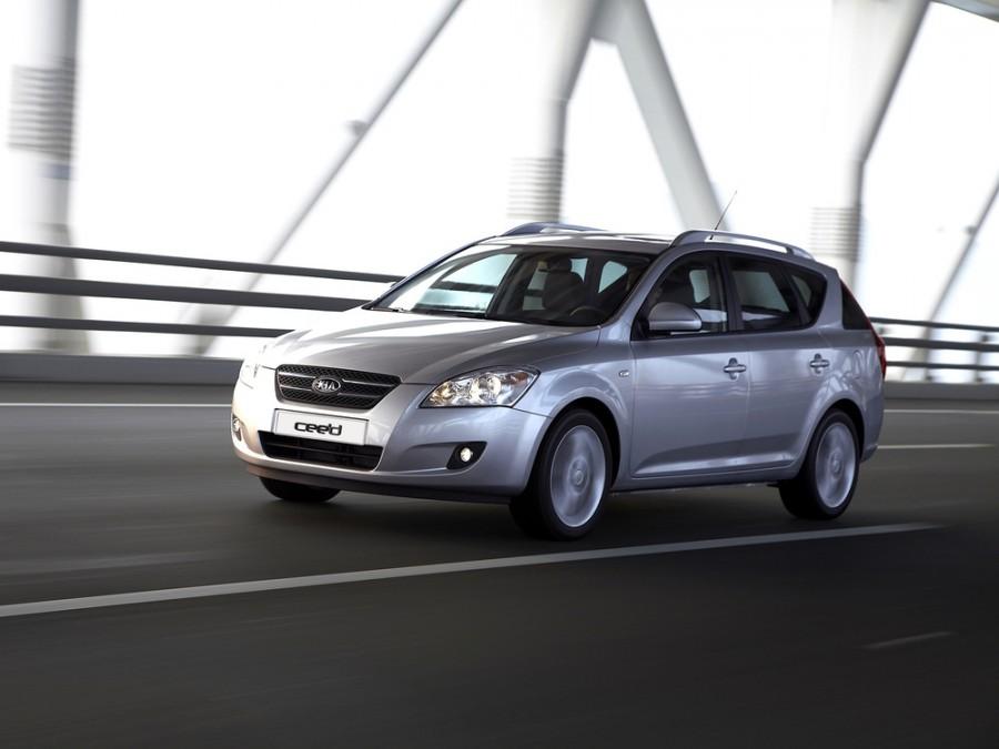 Kia Ceed SW универсал, 2007–2010, 1 поколение - отзывы, фото и характеристики на Car.ru