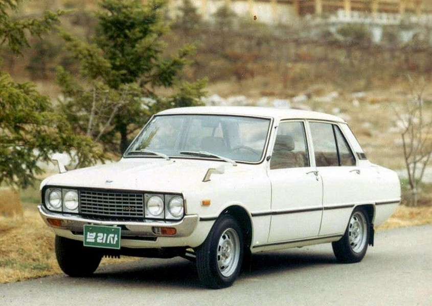 Kia Brisa седан, 1974–1978, 1 поколение - отзывы, фото и характеристики на Car.ru