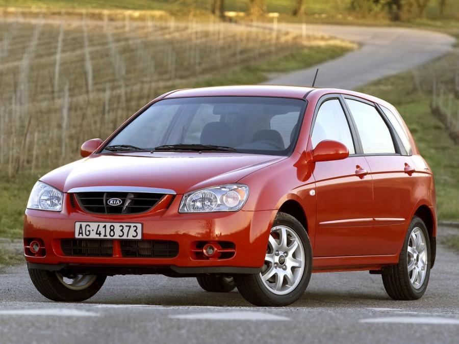 Kia Cerato хетчбэк, 2004–2006, 1 поколение - отзывы, фото и характеристики на Car.ru