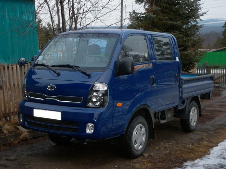 Kia Bongo Double Cab борт 4-дв., 2012–2016, III [рестайлинг] - отзывы, фото и характеристики на Car.ru