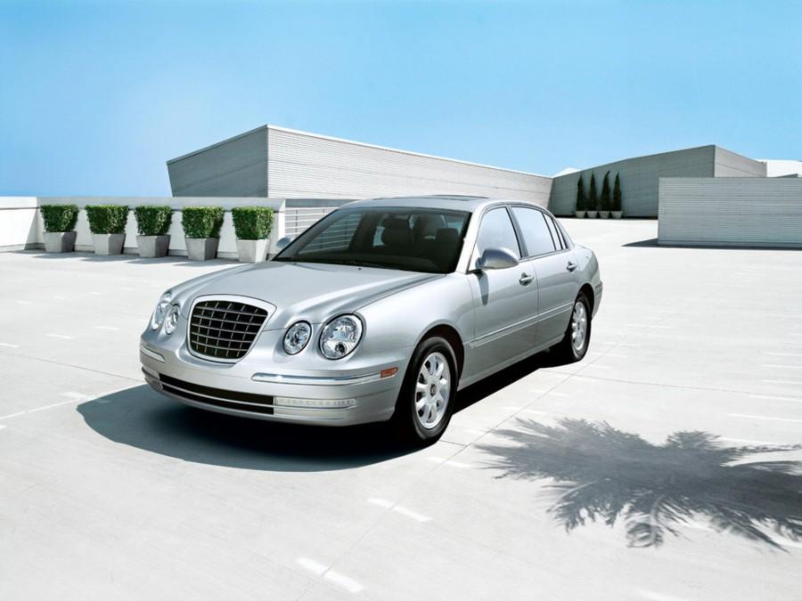 Kia Amanti седан, 2004–2006, 1 поколение - отзывы, фото и характеристики на Car.ru