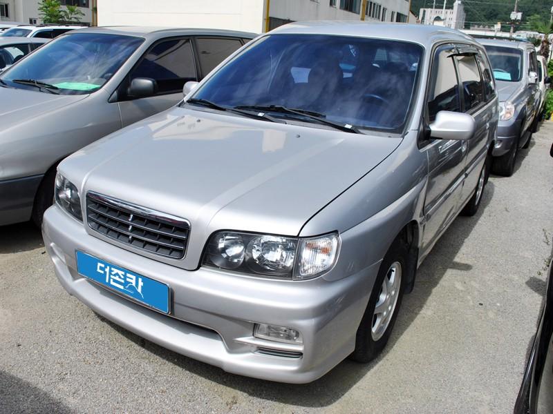 Kia Carstar минивэн, 1999–2002, 1 поколение - отзывы, фото и характеристики на Car.ru