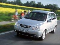 Kia Carens, 2 поколение, Минивэн, 2002–2006