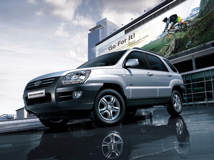 Kia Sportage кроссовер, 2004–2008, 2 поколение - отзывы, фото и характеристики на Car.ru