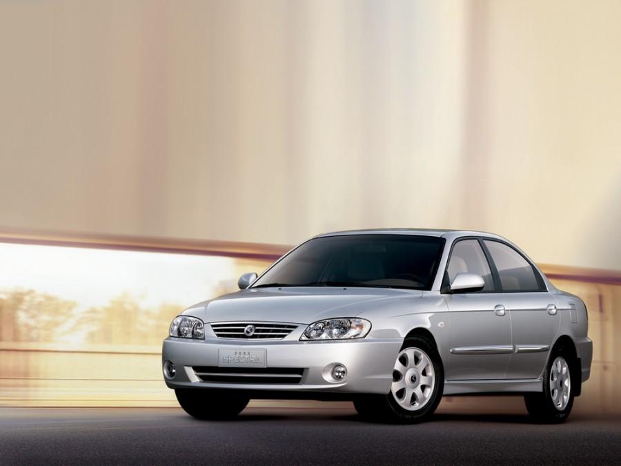 Kia Spectra седан, 2003–2004, 1 поколение [2-й рестайлинг] - отзывы, фото и характеристики на Car.ru