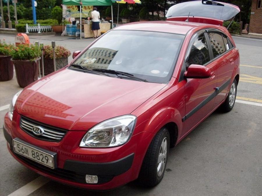 Kia Pride хетчбэк, 2005–2009, New - отзывы, фото и характеристики на Car.ru
