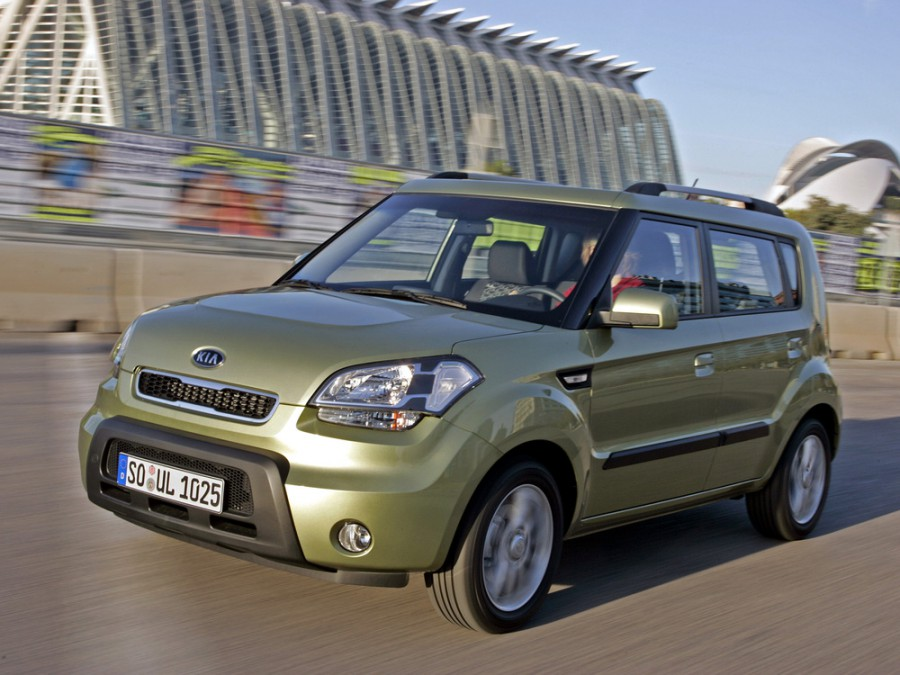 Kia Soul хетчбэк, 2008–2011, 1 поколение - отзывы, фото и характеристики на Car.ru