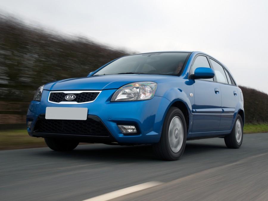 Kia Rio хетчбэк, 2009–2011, 2 поколение [рестайлинг] - отзывы, фото и характеристики на Car.ru