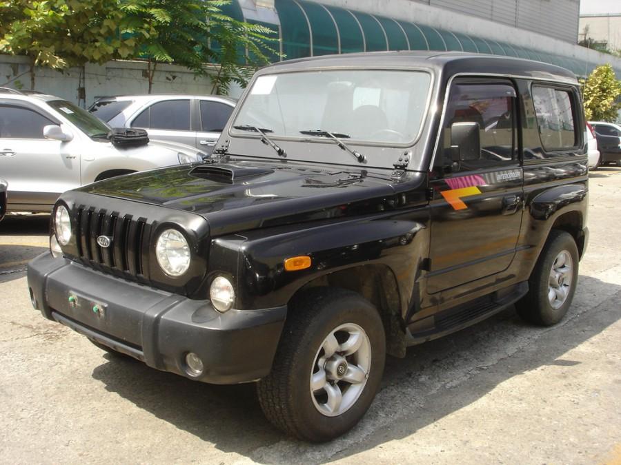 Kia Retona внедорожник, 2000–2002, Cruiser [рестайлинг] - отзывы, фото и характеристики на Car.ru