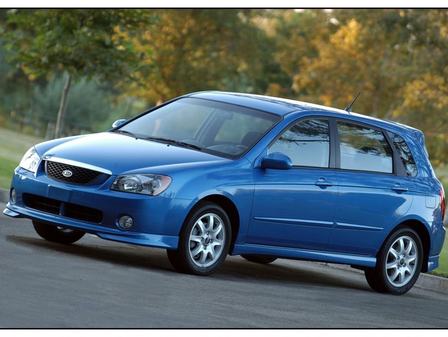 Kia Spectra хетчбэк, 2004–2006, 2 поколение - отзывы, фото и характеристики на Car.ru