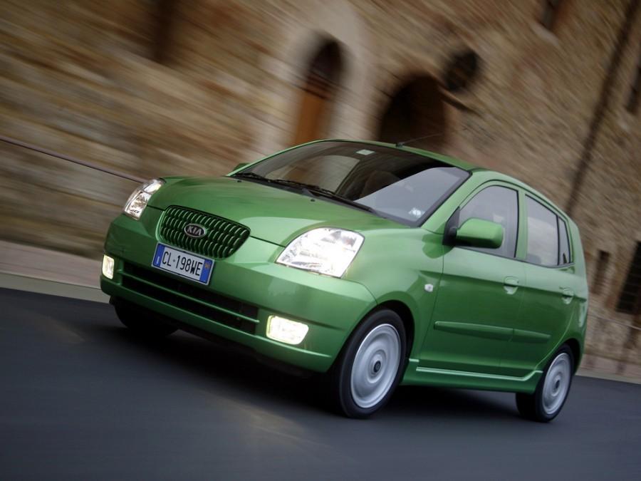 Kia Picanto хетчбэк, 2004–2007, 1 поколение - отзывы, фото и характеристики на Car.ru