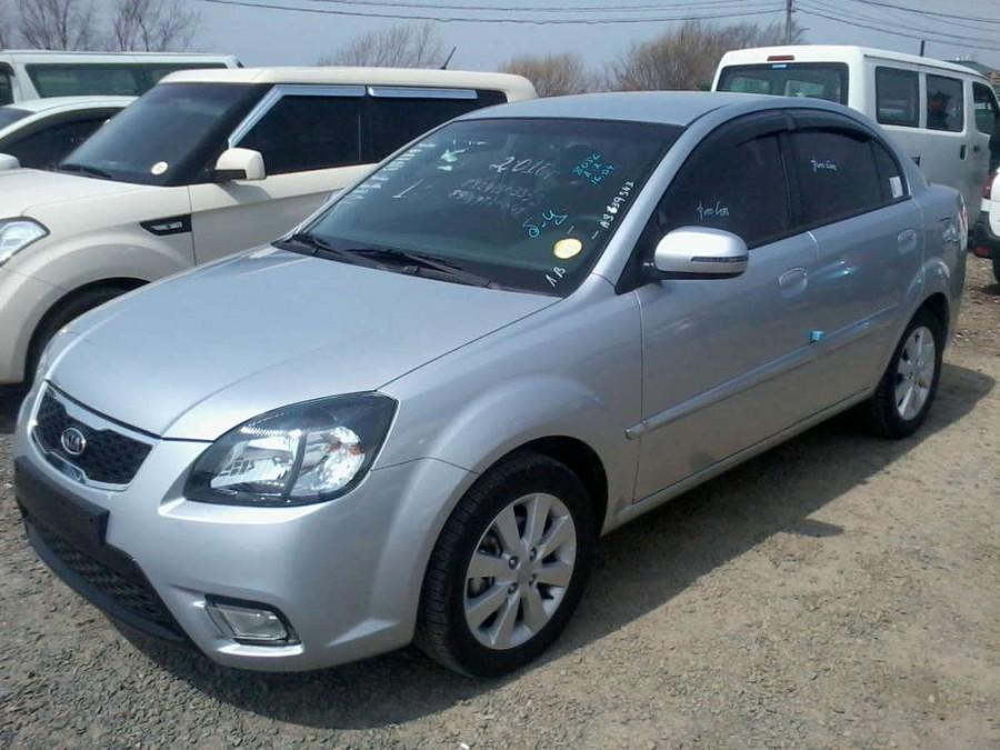 Kia Pride седан, 2009–2011, new [рестайлинг] - отзывы, фото и характеристики на Car.ru