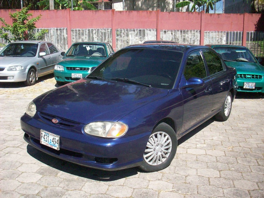 Kia Sephia седан, 1998–2004, 2 поколение - отзывы, фото и характеристики на Car.ru