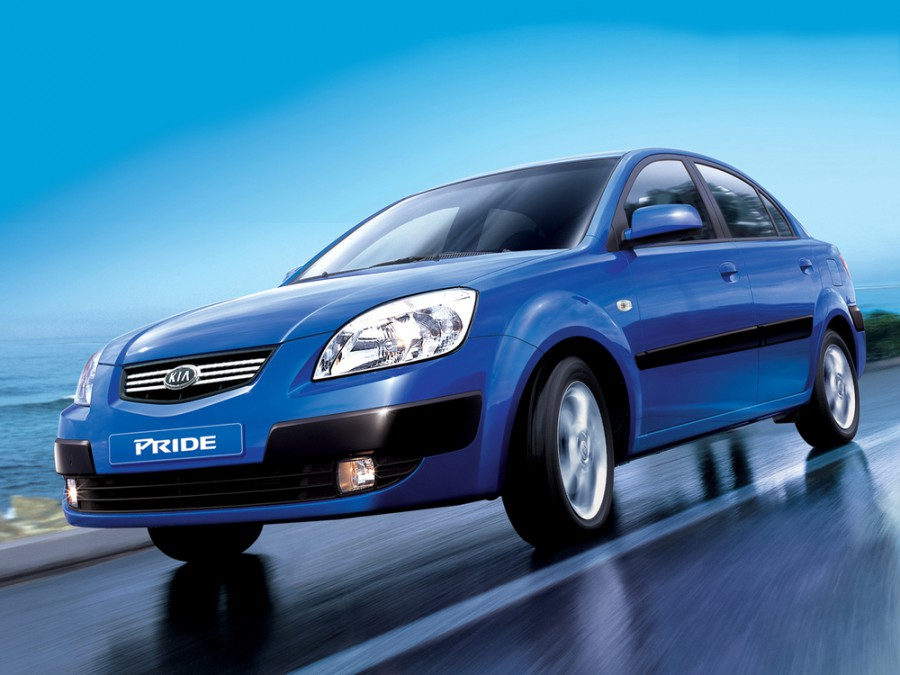 Kia Pride седан, 2005–2009, New - отзывы, фото и характеристики на Car.ru