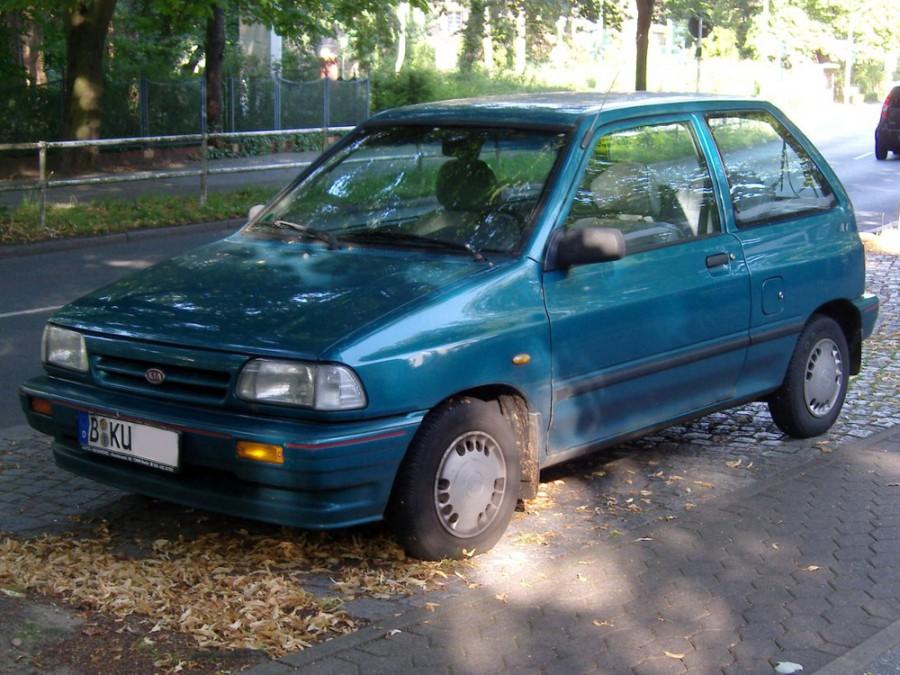 Kia Pride хетчбэк 3-дв., 1987–2000, 1 поколение - отзывы, фото и характеристики на Car.ru