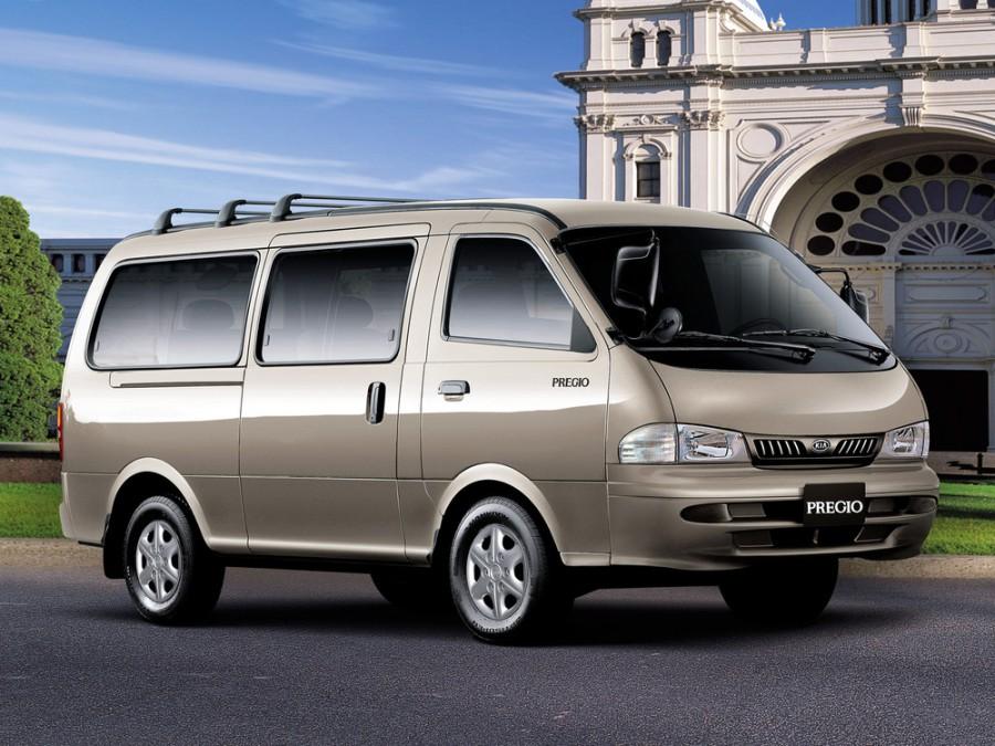 Kia Pregio микроавтобус 4-дв., 1995–2003, 1 поколение - отзывы, фото и характеристики на Car.ru