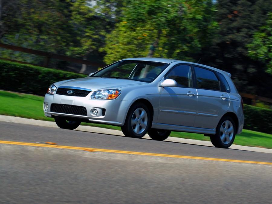Kia Spectra хетчбэк, 2007–2009, 2 поколение [рестайлинг] - отзывы, фото и характеристики на Car.ru