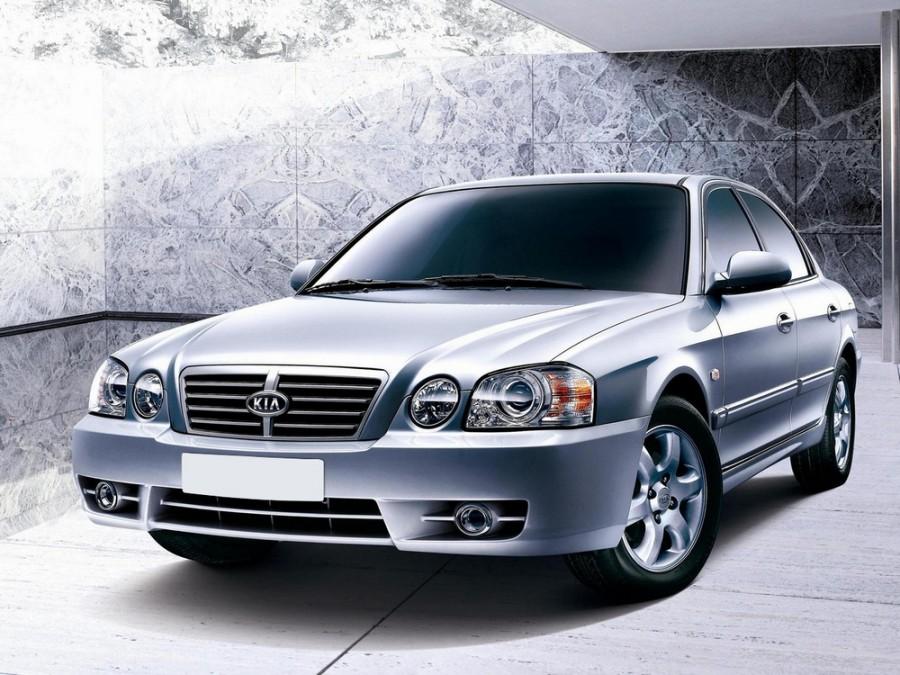 Kia Magentis седан, 2003–2006, 1 поколение [рестайлинг] - отзывы, фото и характеристики на Car.ru