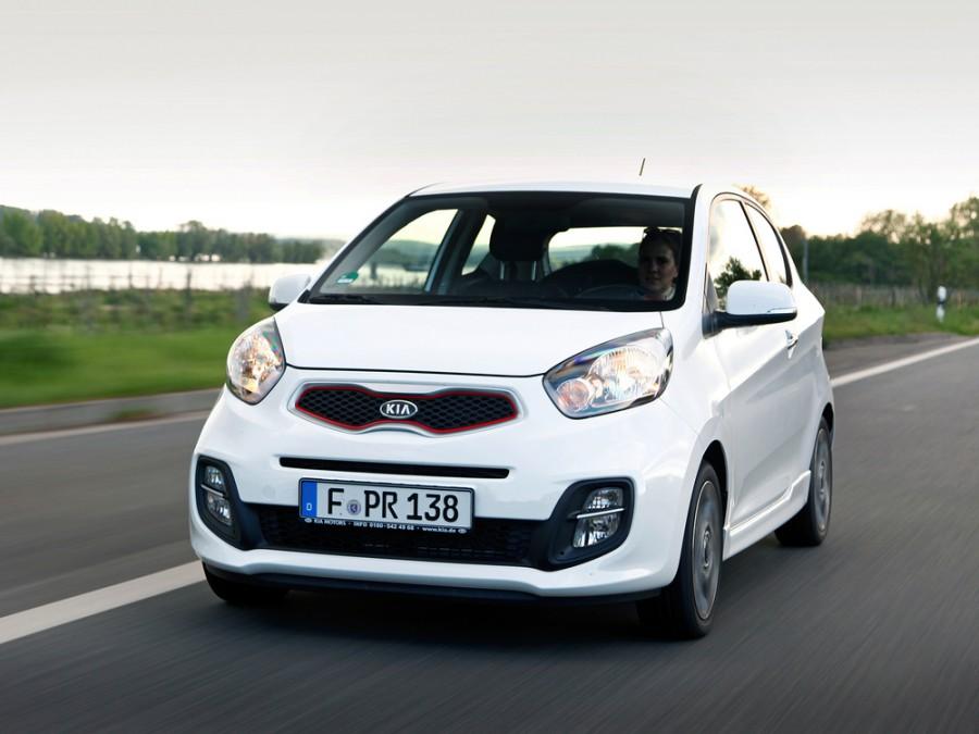 Kia Picanto хетчбэк 3-дв., 2011–2015, 2 поколение - отзывы, фото и характеристики на Car.ru
