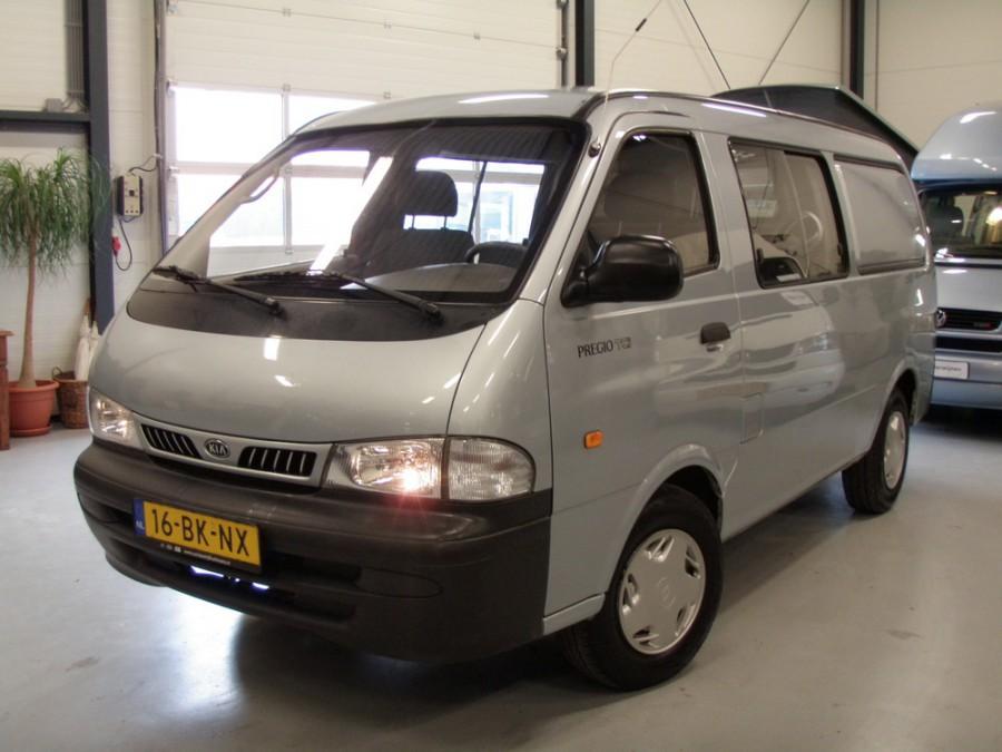 Kia Pregio Combi фургон 4-дв., 1995–2003, 1 поколение - отзывы, фото и характеристики на Car.ru
