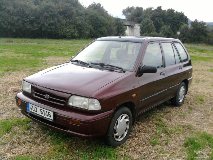 Kia Pride универсал, 1987–2000, 1 поколение - отзывы, фото и характеристики на Car.ru