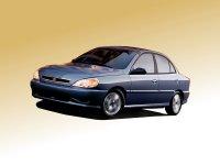Kia Rio, 1 поколение, Седан, 1999–2002