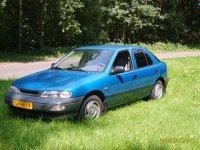 Kia Sephia, 1 поколение [рестайлинг], Leo хетчбэк, 1995–1998