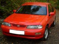 Kia Sephia, 1 поколение [рестайлинг], Седан, 1995–1998
