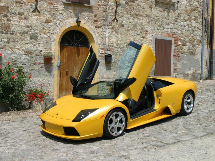 Lamborghini Murcielago родстер, 2001–2006, 1 поколение - отзывы, фото и характеристики на Car.ru