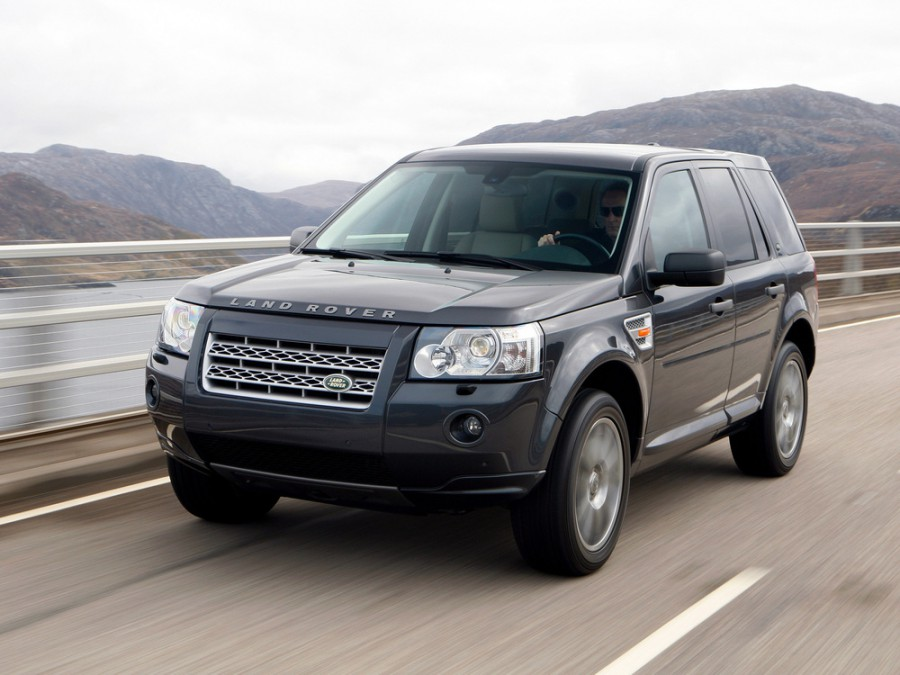 Land Rover Freelander, Алушта