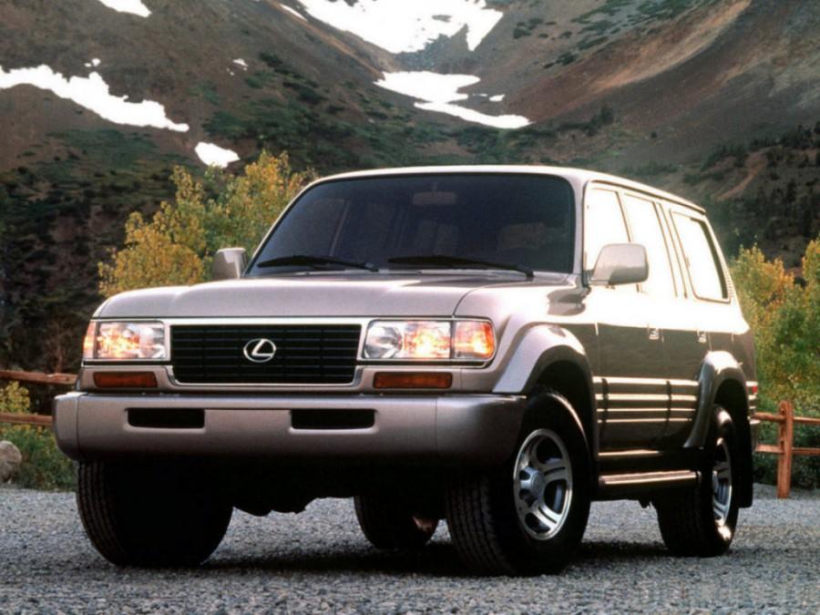 Lexus LX внедорожник, 1996–1998, 1 поколение - отзывы, фото и характеристики на Car.ru