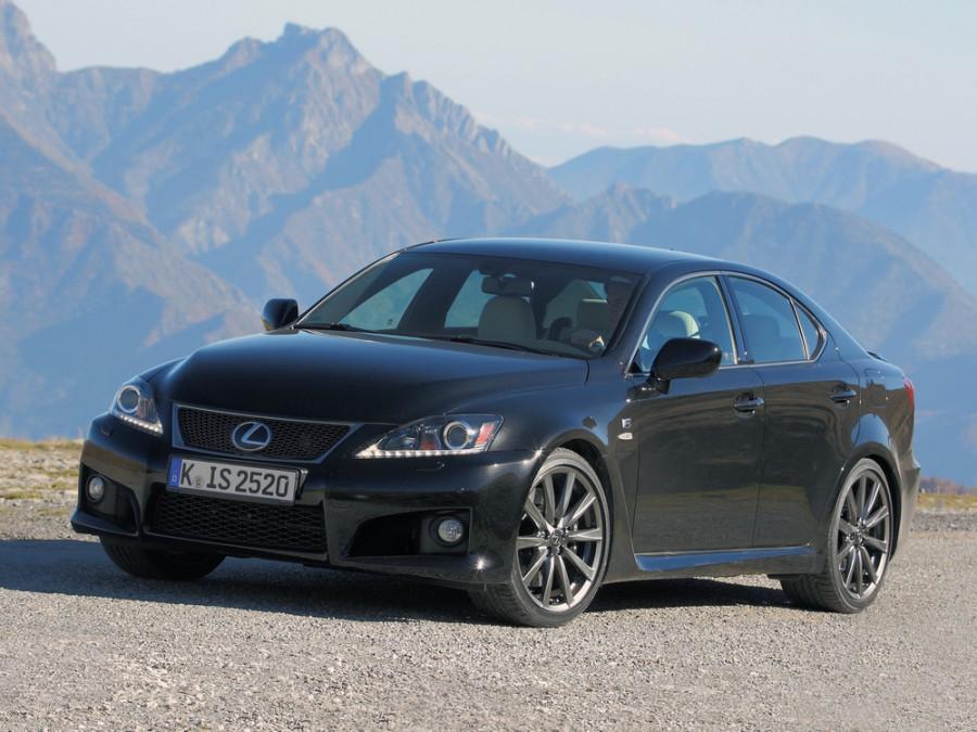 Lexus IS F-Sport седан 4-дв., 2010–2013, 2 поколение [рестайлинг] - отзывы, фото и характеристики на Car.ru