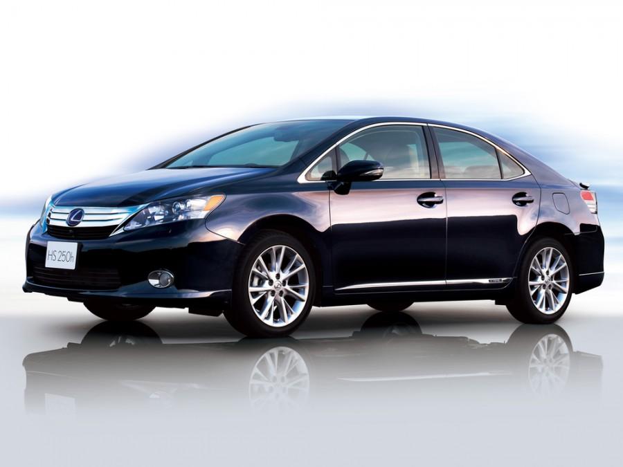 Lexus HS седан, 2009–2012, 1 поколение - отзывы, фото и характеристики на Car.ru