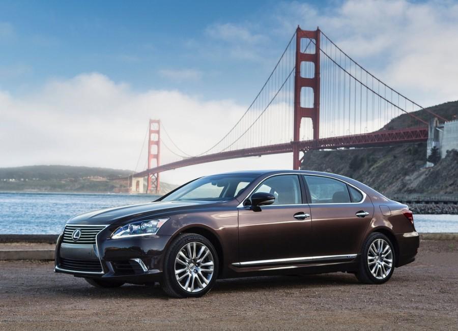 Lexus LS седан 4-дв., 2012–2016, 4 поколение [2-й рестайлинг] - отзывы, фото и характеристики на Car.ru