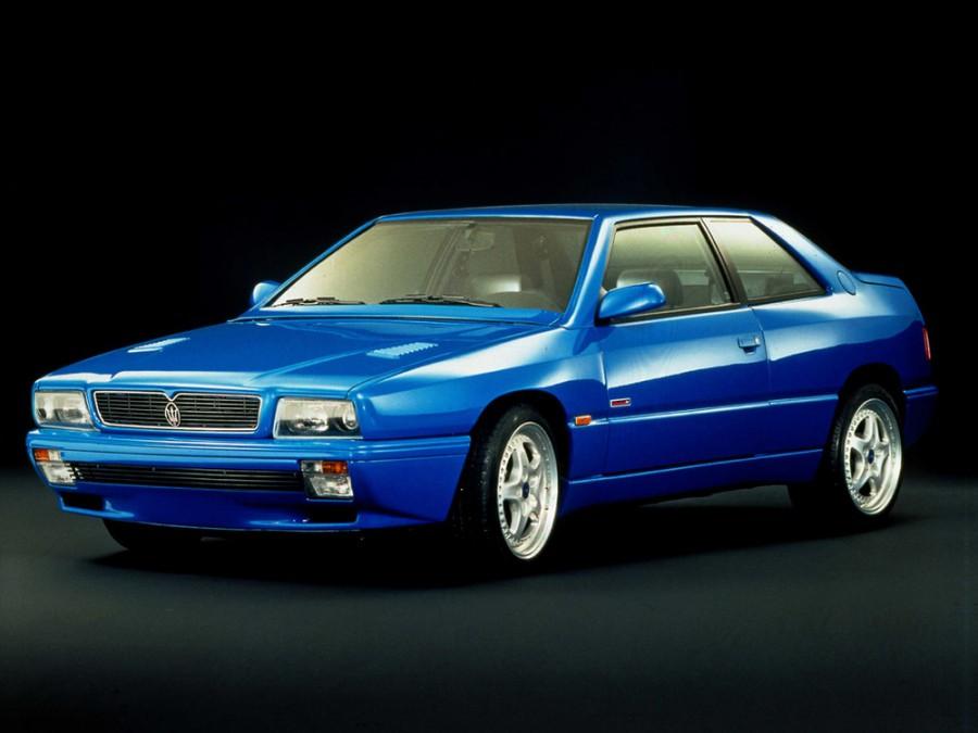 Maserati Ghibli купе, 1992–1997, 2 поколение - отзывы, фото и характеристики на Car.ru