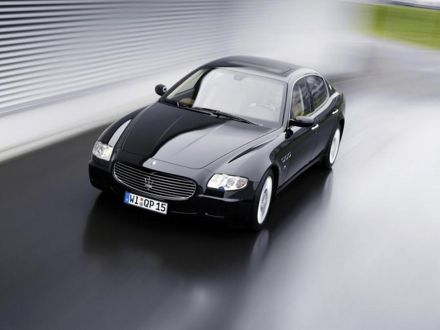 Maserati Quattroporte седан, 2003–2008, 5 поколение - отзывы, фото и характеристики на Car.ru