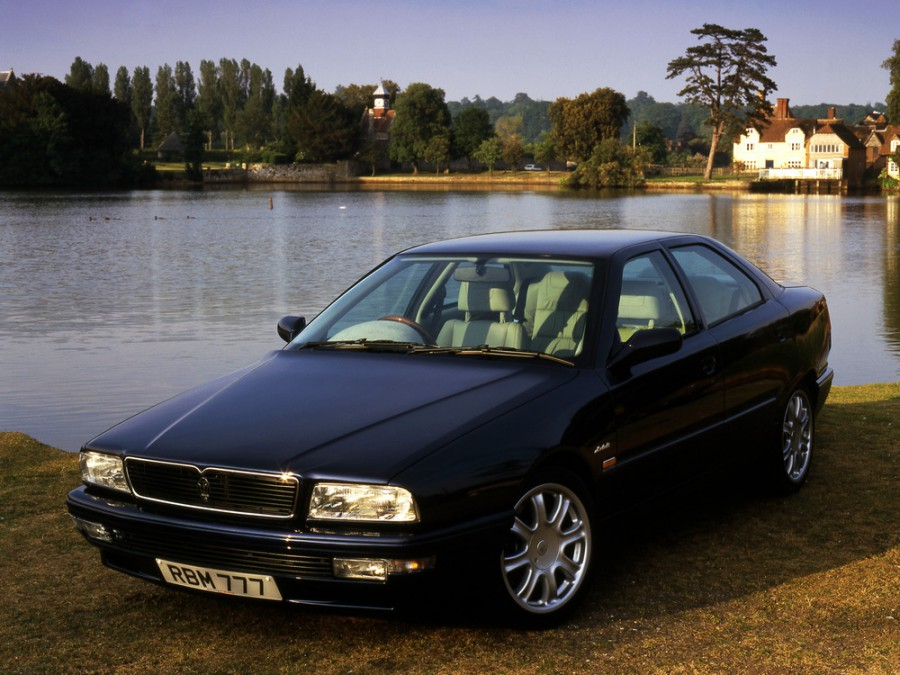 Maserati Quattroporte седан, 1994–2000, 4 поколение - отзывы, фото и характеристики на Car.ru
