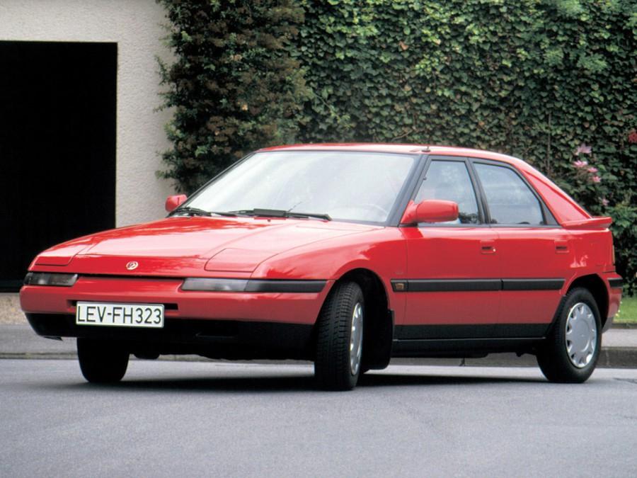 Mazda 323 хетчбэк 5-дв., 1989–1995, BG - отзывы, фото и характеристики на Car.ru