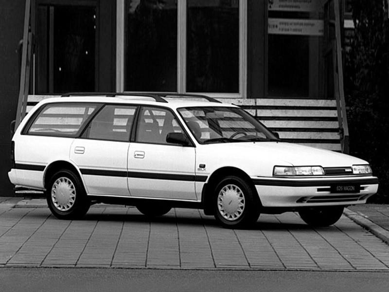 Mazda 626 универсал, 1987–1992, 3 поколение - отзывы, фото и характеристики на Car.ru