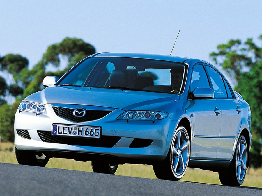 Mazda 6 хетчбэк, 2002–2005, 1 поколение - отзывы, фото и характеристики на Car.ru