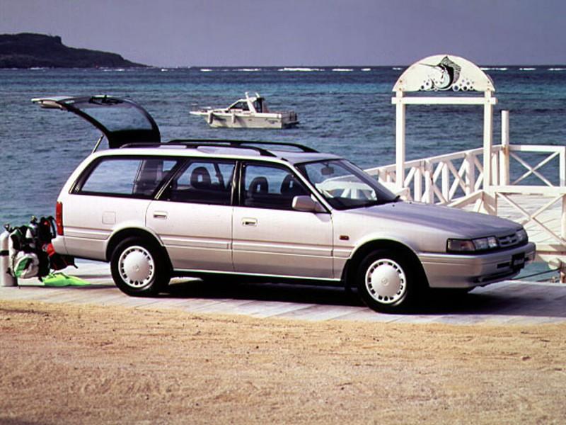 Mazda 626 универсал, 1990–1996, 3 поколение [рестайлинг] - отзывы, фото и характеристики на Car.ru