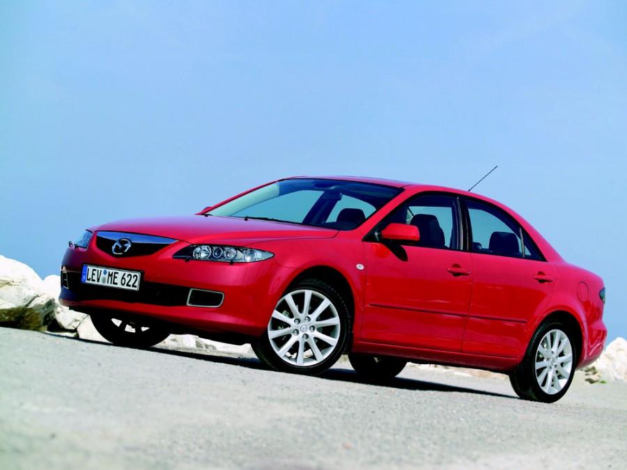 Mazda 6 седан 4-дв., 2005–2007, 1 поколение [рестайлинг] - отзывы, фото и характеристики на Car.ru
