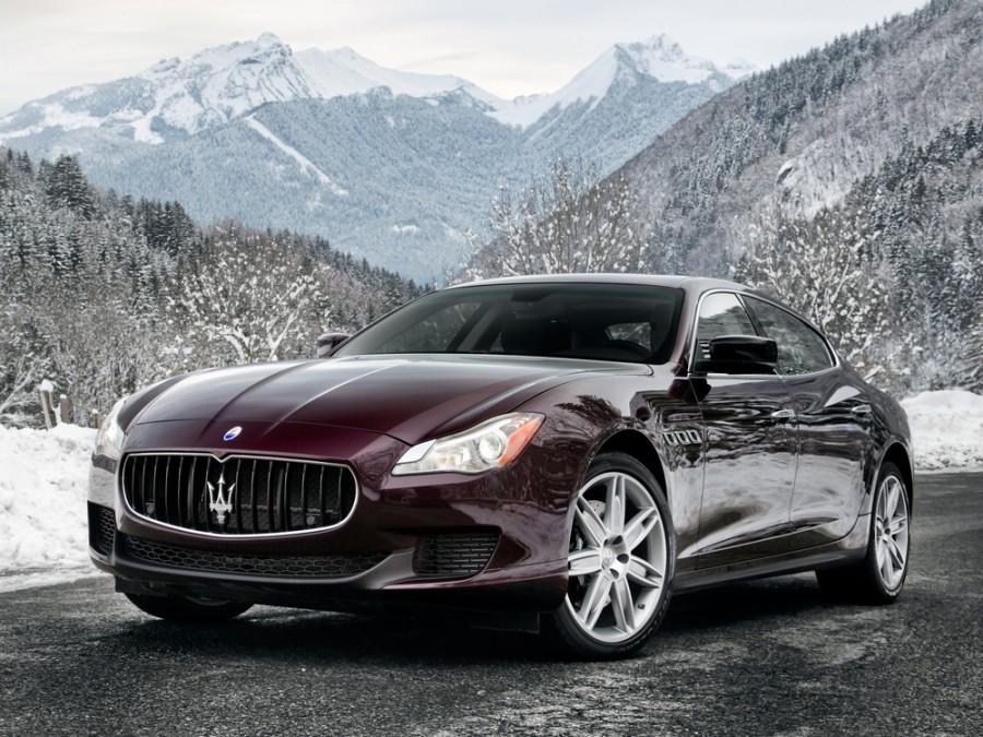 Maserati Quattroporte седан 4-дв., 2012–2016, 6 поколение - отзывы, фото и характеристики на Car.ru