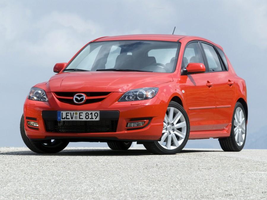 Mazda 3 MPS хетчбэк 5-дв., 2006–2016, BK [рестайлинг] - отзывы, фото и характеристики на Car.ru