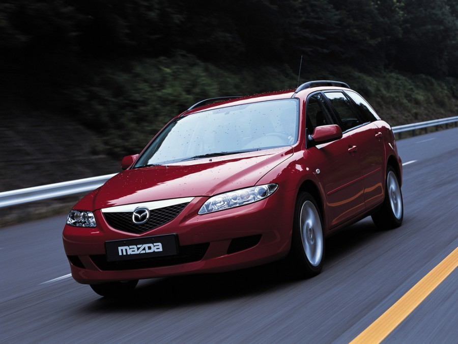 Mazda 6 универсал, 2002–2005, 1 поколение - отзывы, фото и характеристики на Car.ru