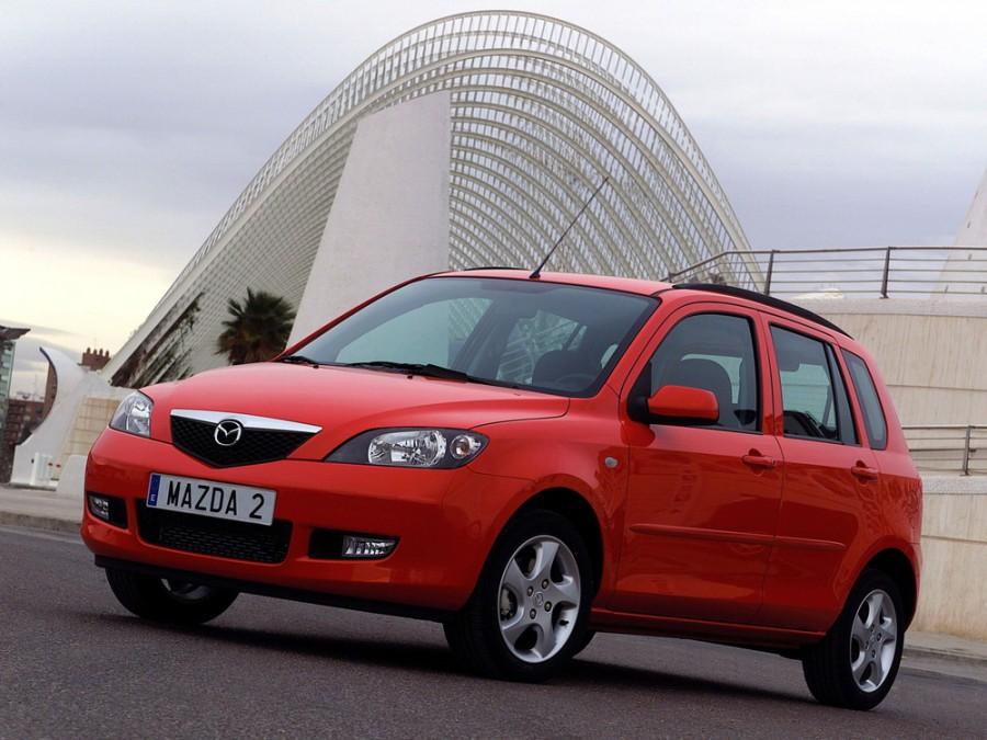 Mazda 2 хетчбэк, 2003–2005, 1 поколение - отзывы, фото и характеристики на Car.ru