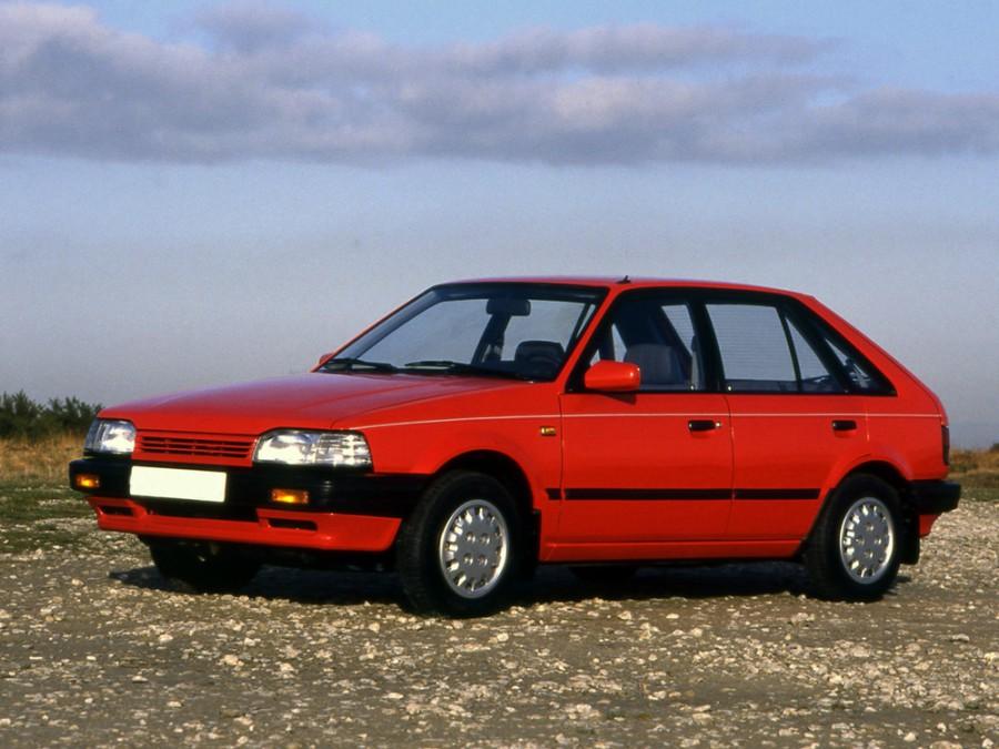 Mazda 323 хетчбэк 5-дв., 1985–1989, BF - отзывы, фото и характеристики на Car.ru