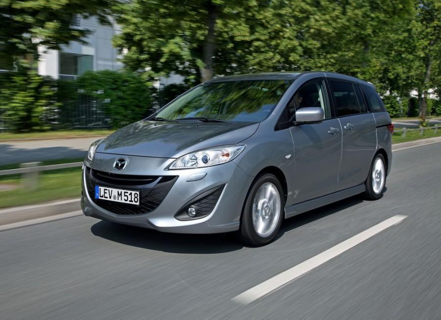 Mazda 5 минивэн, 2010–2015, 2 поколение - отзывы, фото и характеристики на Car.ru